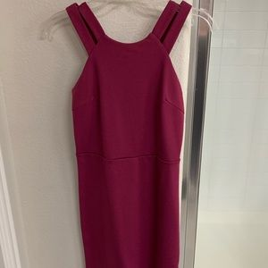South Moon Under size S magenta fitted dress